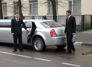 One of our chauffeured cars in Melbourne